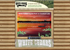 Welcome to White Cedars Tourist Park!
